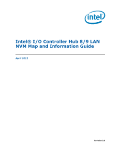 Intel® I/O Controller Hub 8/9 LAN NVM Map and Information Guide
